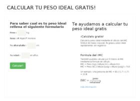 calcularpeso.com