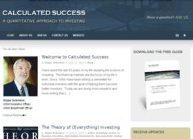 calculated-success.com