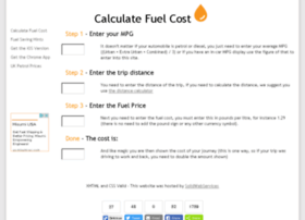 calculatefuelcost.co.uk
