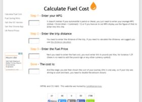 calculatefuelcost.co.uk
