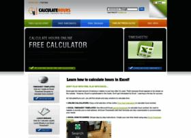 calculatehours.com