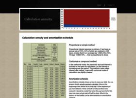 calculation-annuity.yolasite.com