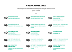 calculator.co.ke