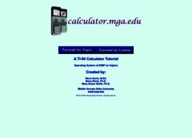 calculator.mga.edu