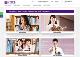 calculator.tutorvista.com