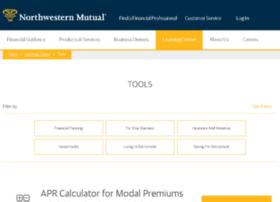calculators.northwesternmutual.com