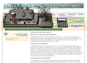 calculatrice-pret-hypothecaire.com