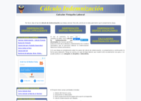 calculoindemnizacion.com