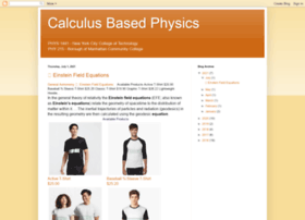 calculusbasedphysics.blogspot.com