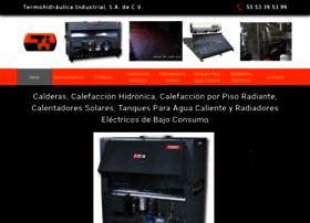 calderascalefaccionycalentadoressolares.com.mx
