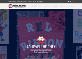 caldwellheights.roundrockisd.org