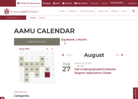 calendar.aamu.edu