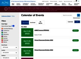 calendar.asme.org