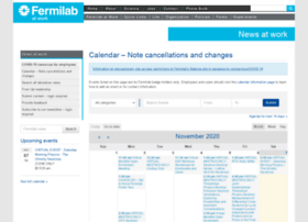 calendar.fnal.gov