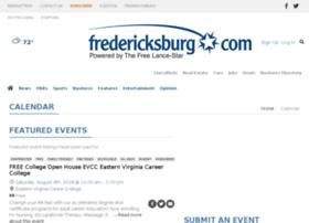 calendar.fredericksburg.com