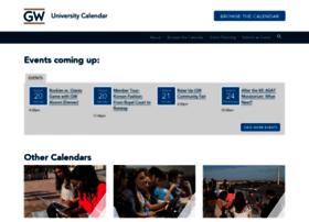 calendar.gwu.edu