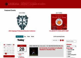 calendar.louisiana.edu