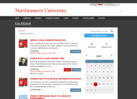 calendar.northeastern.edu