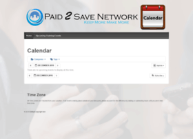 calendar.paid2savenetwork.com