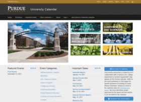 calendar.purdue.edu
