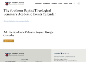 calendar.sbts.edu