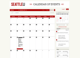 calendar.seattleu.edu