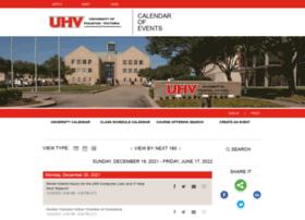 calendar.uhv.edu
