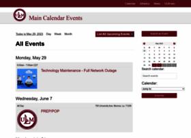 calendar.ulm.edu