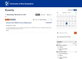 calendar.unh.edu