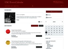 calendar.usc.edu