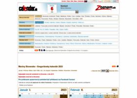 calendar.zoznam.sk