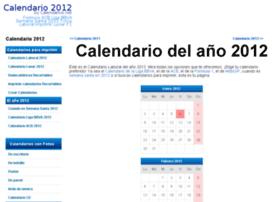 calendario2012.com