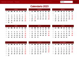calendarioespana.com