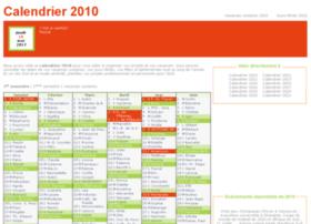 calendrier-2010.fr
