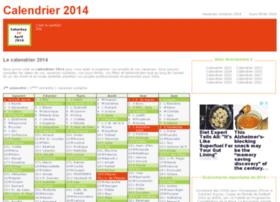 calendrier-2014.fr