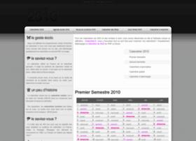 calendrier2010.net