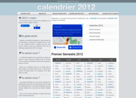 calendrier2012.net