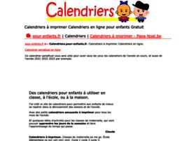 calendriers.pour-enfants.fr