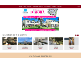 calenzanaimmobilier.com