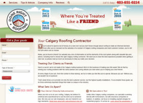 calgaryroofingdoneright.com