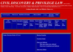 california-discovery-law.com