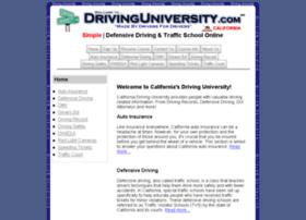 california.drivinguniversity.com