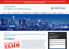 californiaaccidentattorneysblog.com