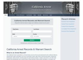 californiaarrests.org