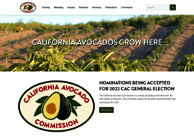 californiaavocadogrowers.com