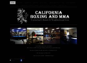 californiaboxingandmma.com