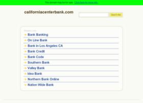 californiacenterbank.com