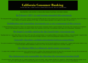 californiaconsumerbanking.com