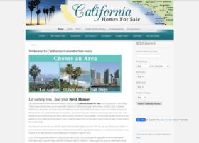californiahomesforsale.com