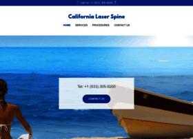 californialaserspine.com